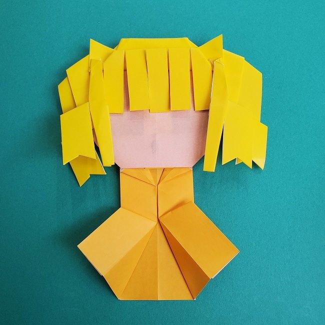 プリキュアの折り紙の作り方★キュアスパークル (51)