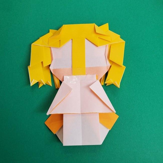 プリキュアの折り紙の作り方★キュアスパークル (53)