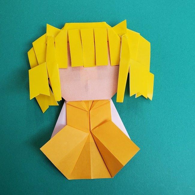 プリキュアの折り紙の作り方★キュアスパークル (54)
