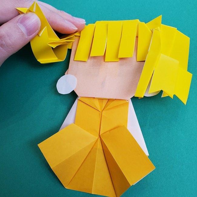 プリキュアの折り紙の作り方★キュアスパークル (56)
