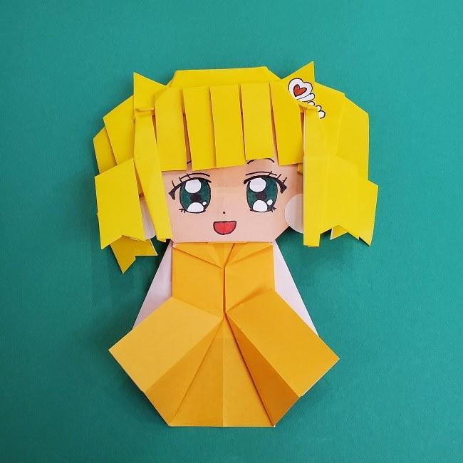 プリキュアの折り紙の作り方『キュアスパークル』★簡単かわいいキャラクターの折り方を紹介!
