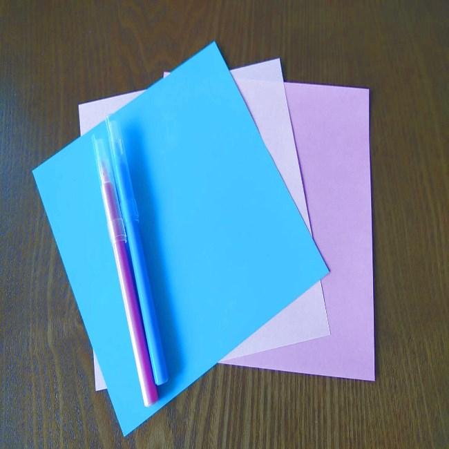 プリキュアの折り紙エレメントさん*必要なもの