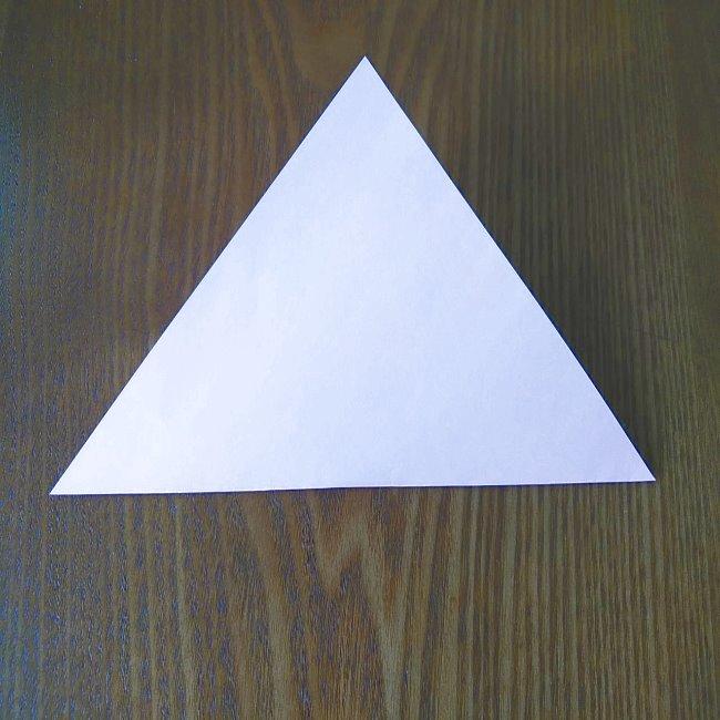 プリキュアの折り紙 実りのエレメントさんの作り方折り方 (2)