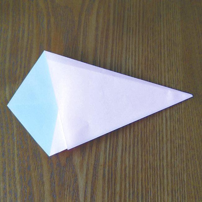 プリキュアの折り紙 実りのエレメントさんの作り方折り方 (3)