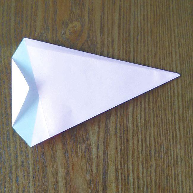 プリキュアの折り紙 実りのエレメントさんの作り方折り方 (4)