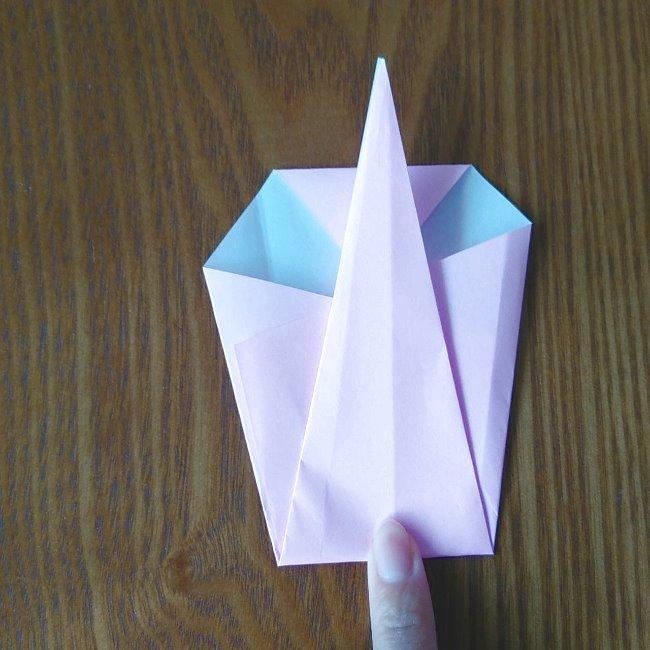 プリキュアの折り紙 実りのエレメントさんの作り方折り方 (5)
