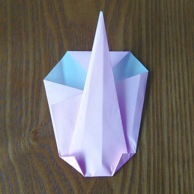 プリキュアの折り紙 実りのエレメントさんの作り方折り方 (6)