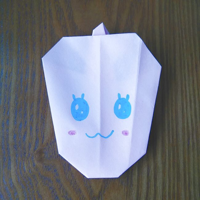 プリキュアの折り紙 実りのエレメントさんの作り方折り方 (8)