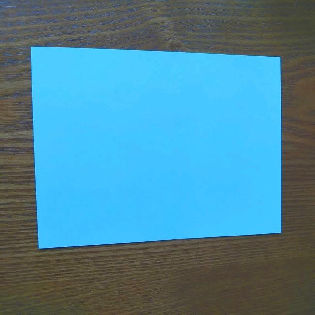 プリキュアの折り紙 水のエレメントさんの作り方折り方 (1)