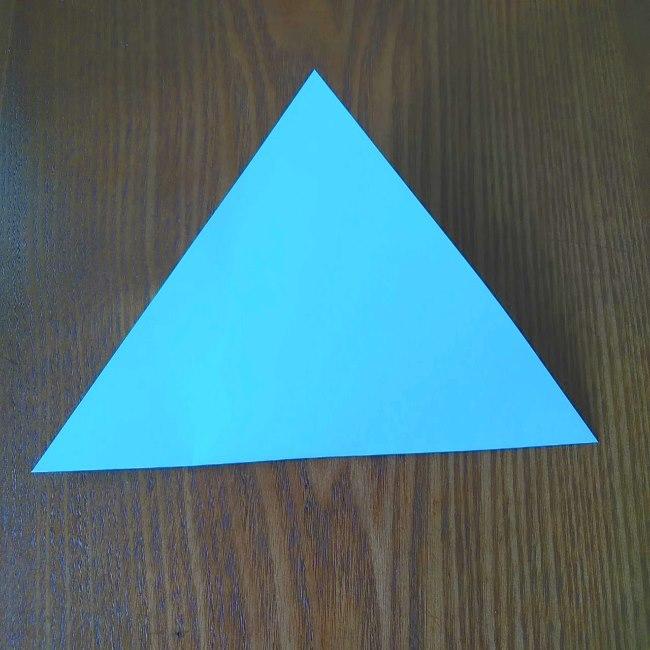 プリキュアの折り紙 水のエレメントさんの作り方折り方 (2)