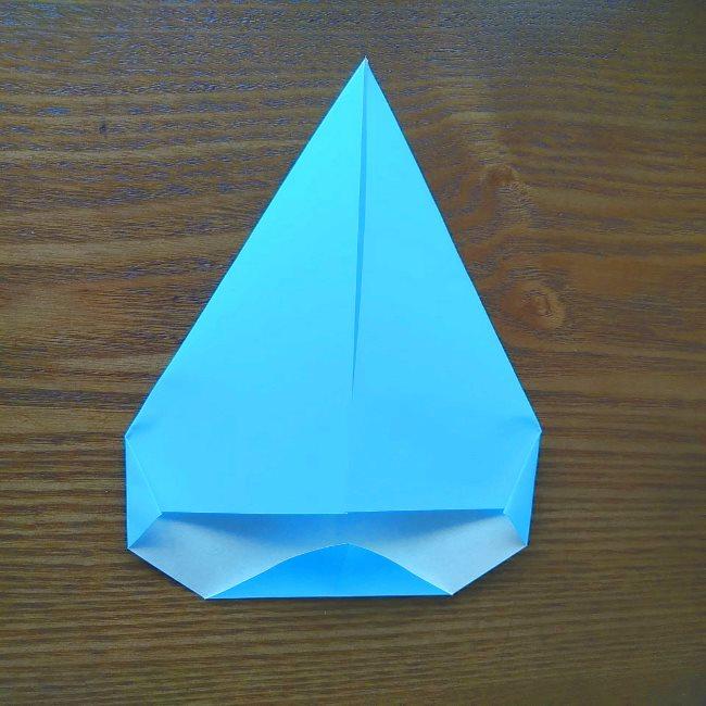プリキュアの折り紙 水のエレメントさんの作り方折り方 (5)