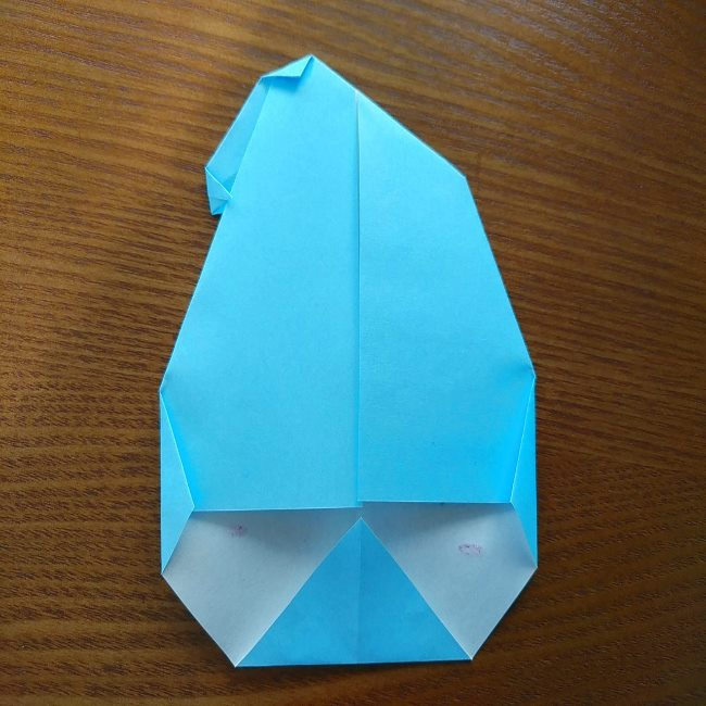 プリキュアの折り紙 水のエレメントさんの作り方折り方 (7)
