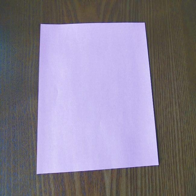 プリキュアの折り紙 花のエレメントさんの作り方折り方 (1)
