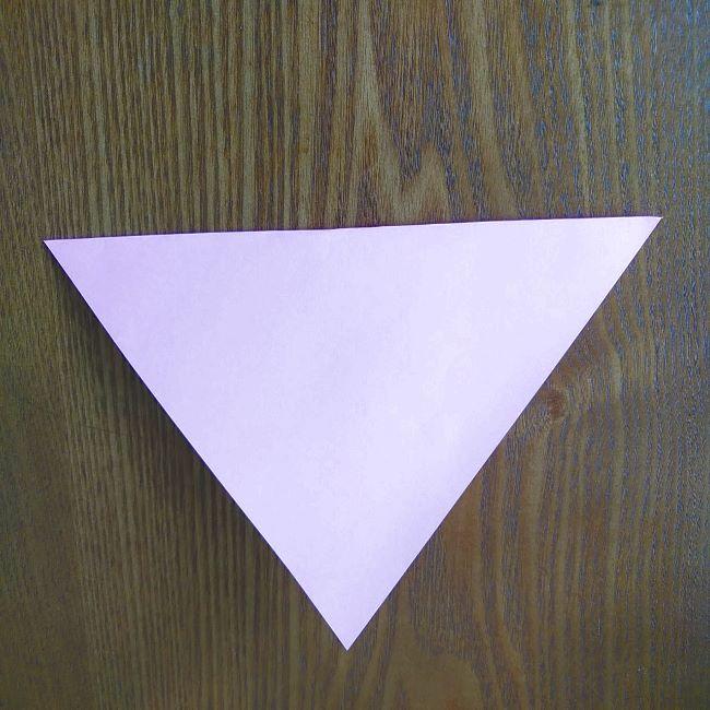 プリキュアの折り紙 花のエレメントさんの作り方折り方 (2)