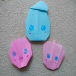 プリキュアの折り紙 子供でも簡単♪エレメントさんの作り方折り方★かわいいキャラクター