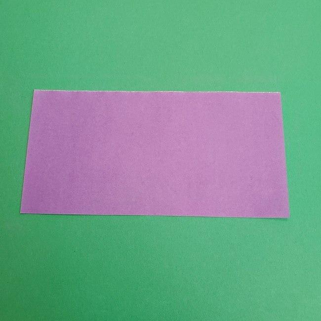プリキュアキュアアースの服:折り紙は紫色(15cmサイズ) (3)