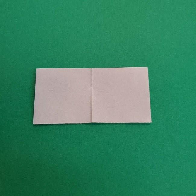 プリキュアキュアアースの服:折り紙は紫色(15cmサイズ) (6)