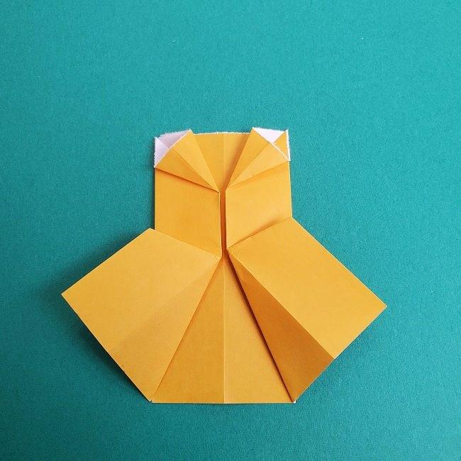 プリキュアキュアスパークルの服*折り紙はオレンジ色(15cmサイズ) (4)