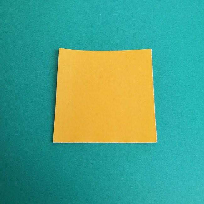 プリキュアキュアスパークルの服*折り紙はオレンジ色(15cmサイズ) (6)