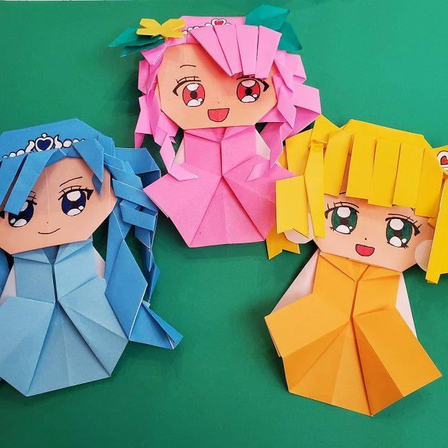 プリキュア キュアスパークルの折り紙は簡単⁈作った感想