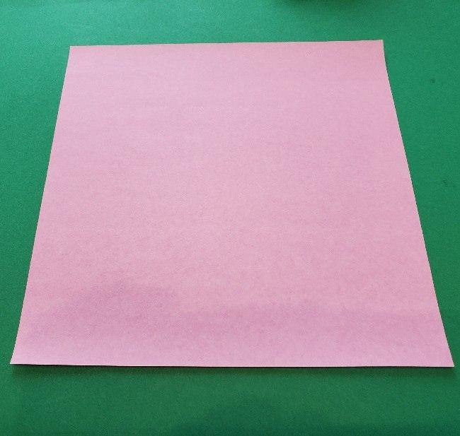 プリキュア ラビリンの折り紙*用意するもの (1)