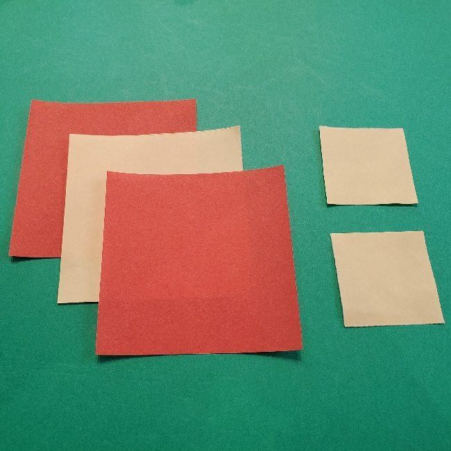 リリアンちゃんの折り紙*用意するもの (1)