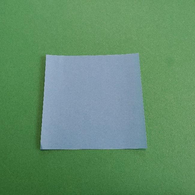 動物の森の折り紙<クリスチーヌとフランソワ>折り方作り方 (1)