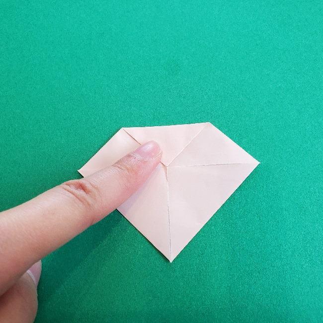 動物の森の折り紙<クリスチーヌとフランソワ>折り方作り方 (21)