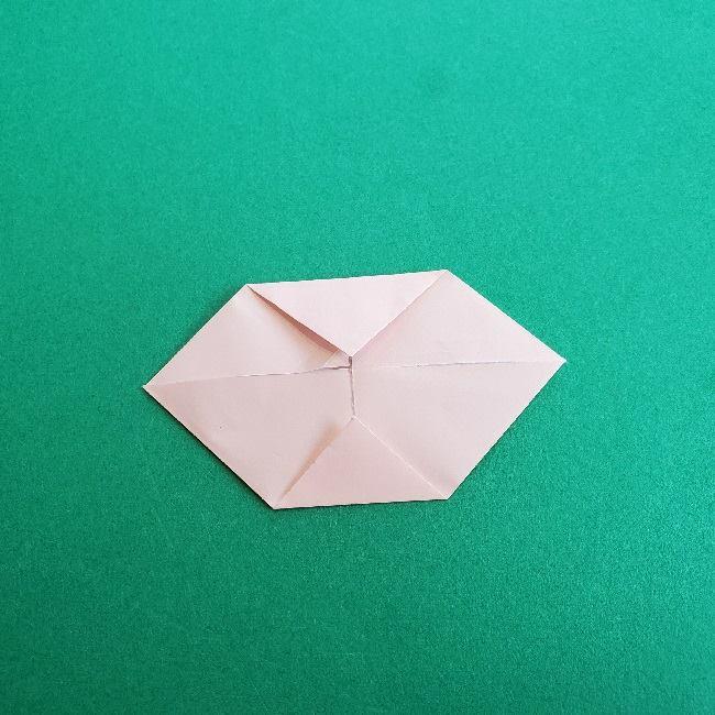 動物の森の折り紙<クリスチーヌとフランソワ>折り方作り方 (22)