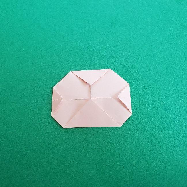 動物の森の折り紙<クリスチーヌとフランソワ>折り方作り方 (24)
