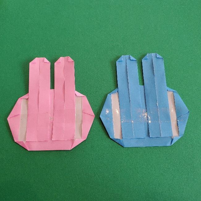 動物の森の折り紙<クリスチーヌとフランソワ>折り方作り方 (26)