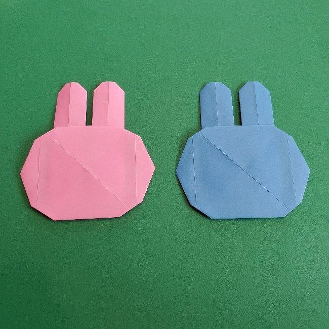 動物の森の折り紙<クリスチーヌとフランソワ>折り方作り方 (27)