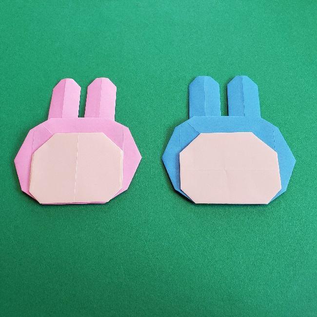動物の森の折り紙<クリスチーヌとフランソワ>折り方作り方 (28)