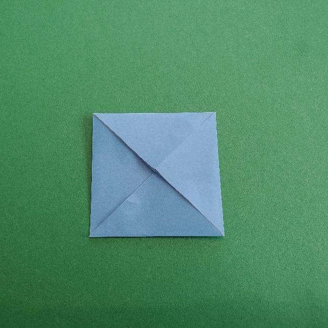 動物の森の折り紙<クリスチーヌとフランソワ>折り方作り方 (4)