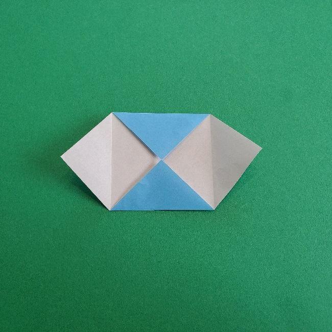 動物の森の折り紙<クリスチーヌとフランソワ>折り方作り方 (5)