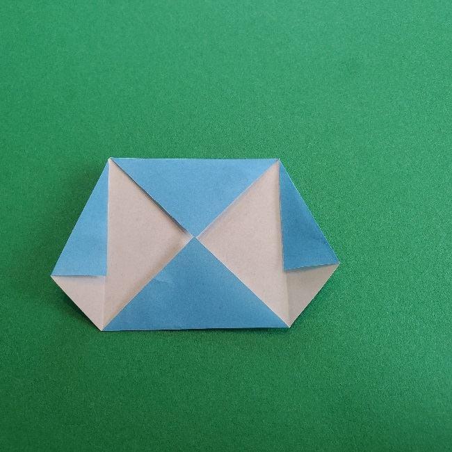 動物の森の折り紙<クリスチーヌとフランソワ>折り方作り方 (6)
