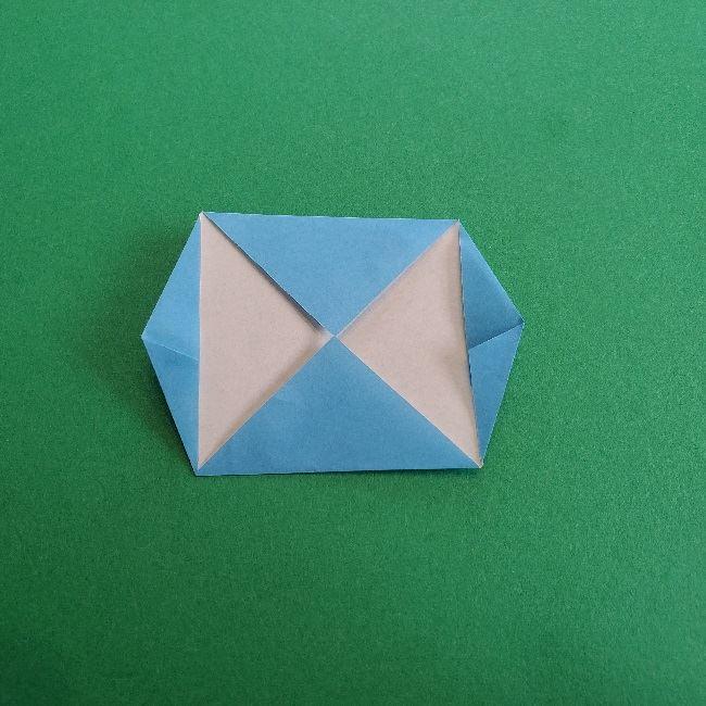 動物の森の折り紙<クリスチーヌとフランソワ>折り方作り方 (7)