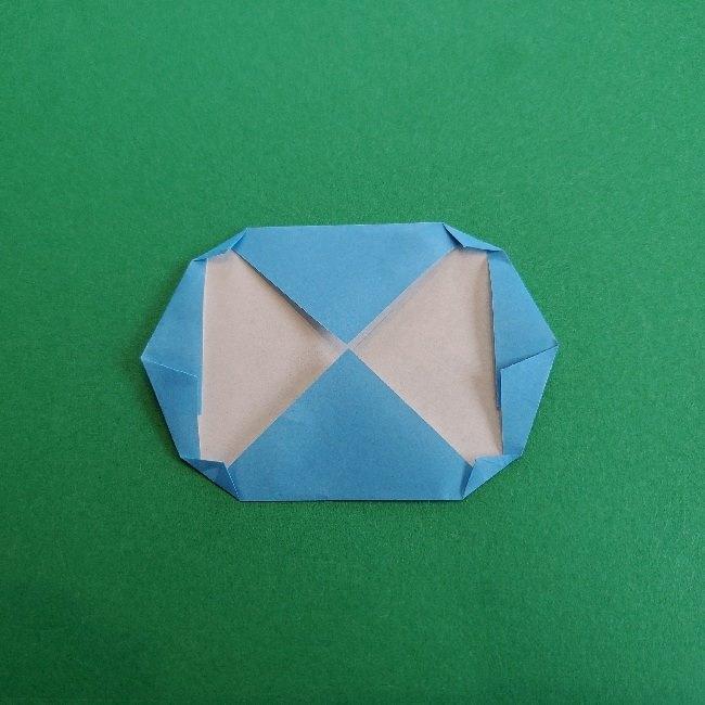 動物の森の折り紙<クリスチーヌとフランソワ>折り方作り方 (8)