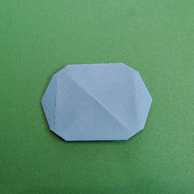 動物の森の折り紙<クリスチーヌとフランソワ>折り方作り方 (9)