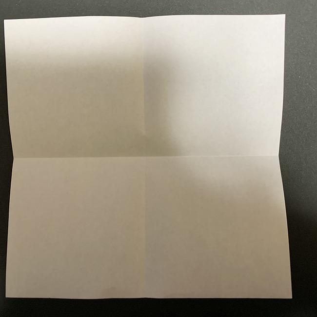 折り紙【チューリップの名札】の作り方折り方 (2)