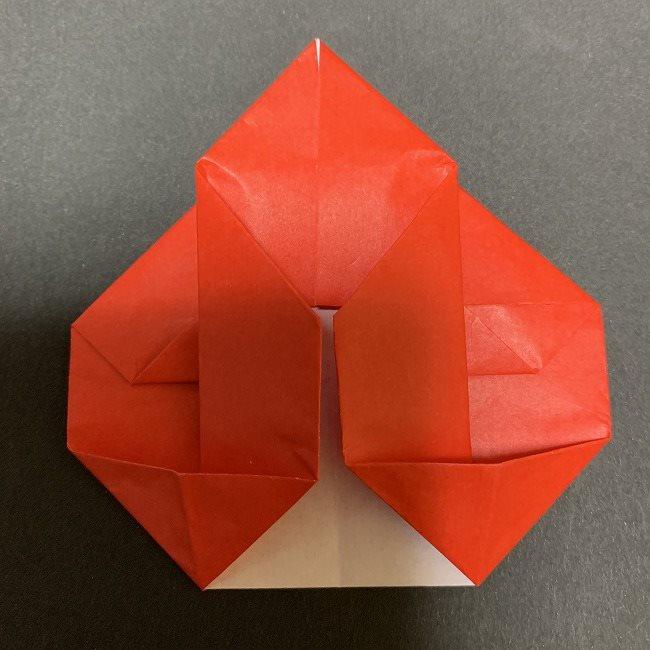 折り紙【チューリップの名札】の作り方折り方 (22)