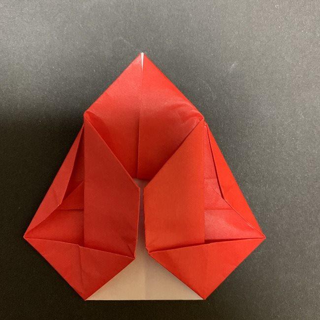 折り紙【チューリップの名札】の作り方折り方 (24)