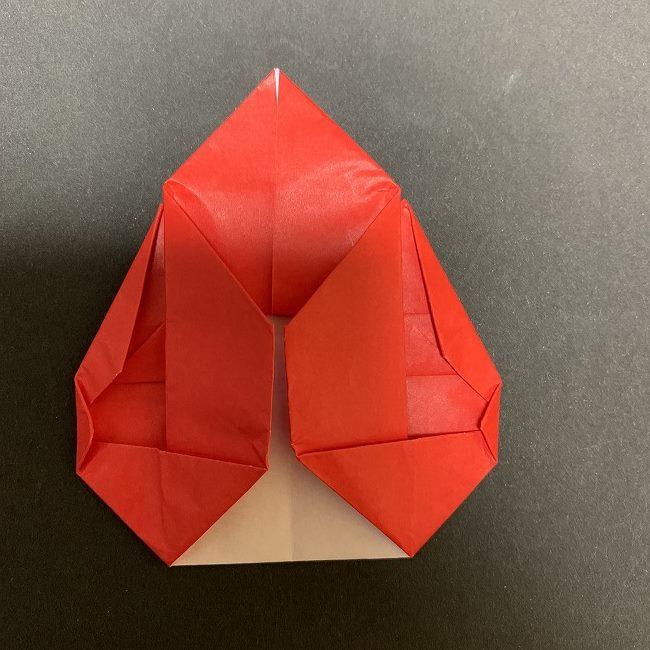 折り紙【チューリップの名札】の作り方折り方 (25)