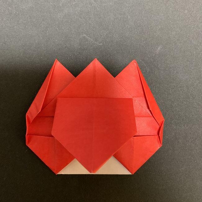 折り紙【チューリップの名札】の作り方折り方 (26)