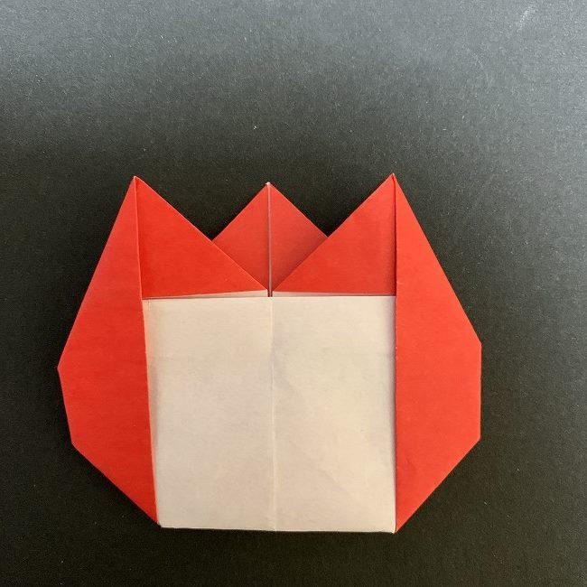 折り紙で簡単!チューリップの名札の作り方折り方★メッセージカード・席札にも!