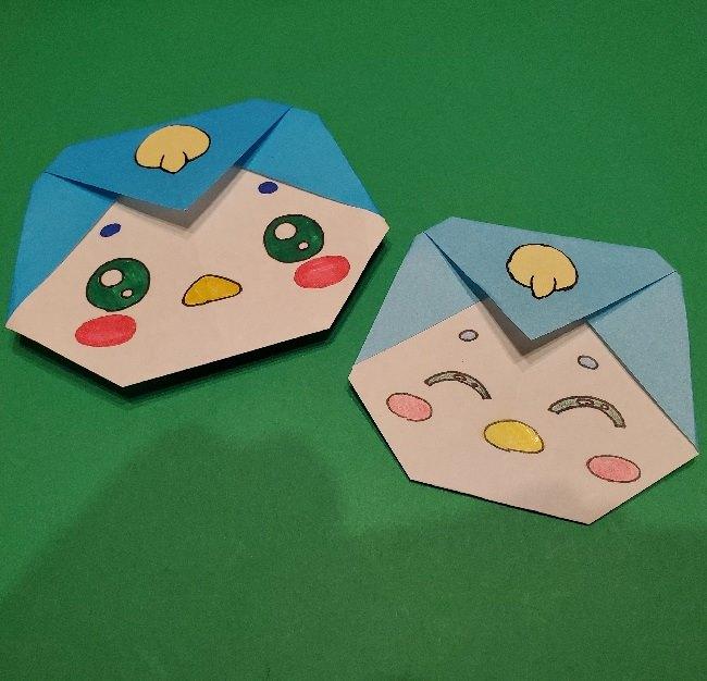 折り紙のペギタンは簡単かわいいペンギンさん♪