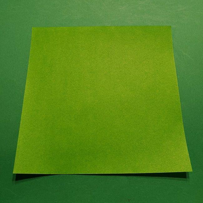 折り紙のマリオの土管*用意するもの (1)