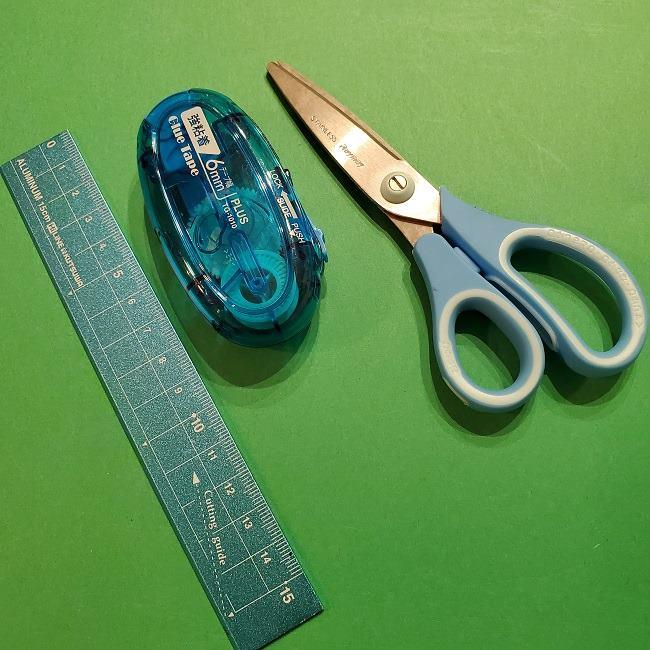 折り紙のマリオの土管*用意するもの (2)
