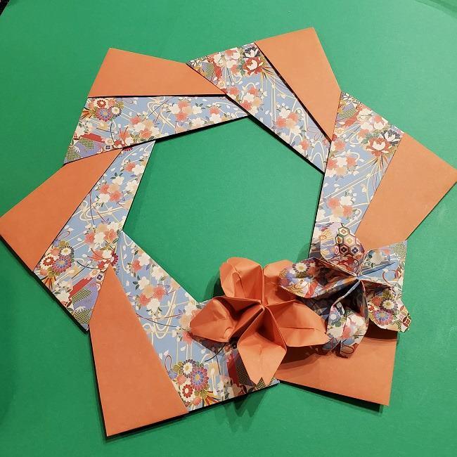 折り紙の折り方は難しい桜の花(立体)を作った感想 (1)