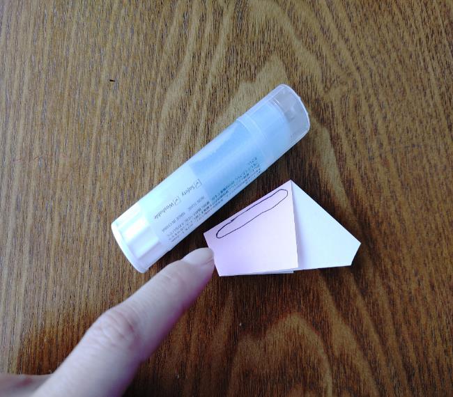 折り紙の桜 5枚でも簡単な折り方切り方 (12)